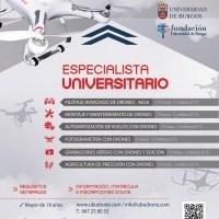 Cursos de Especialista Universitario en aplicaciones de drones