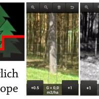 apps forestales: Bitterlich Relascope