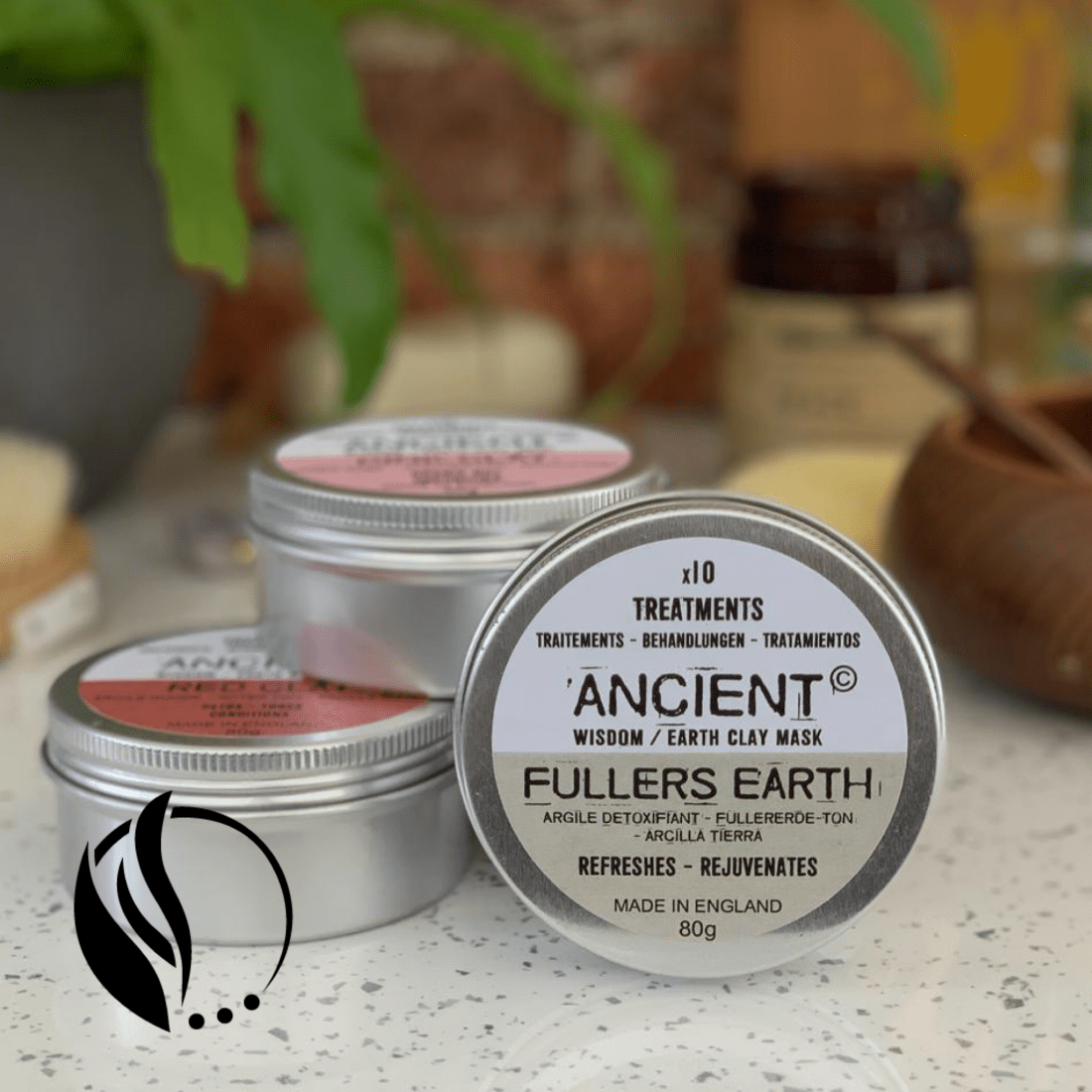 fuller earth mud clay mask