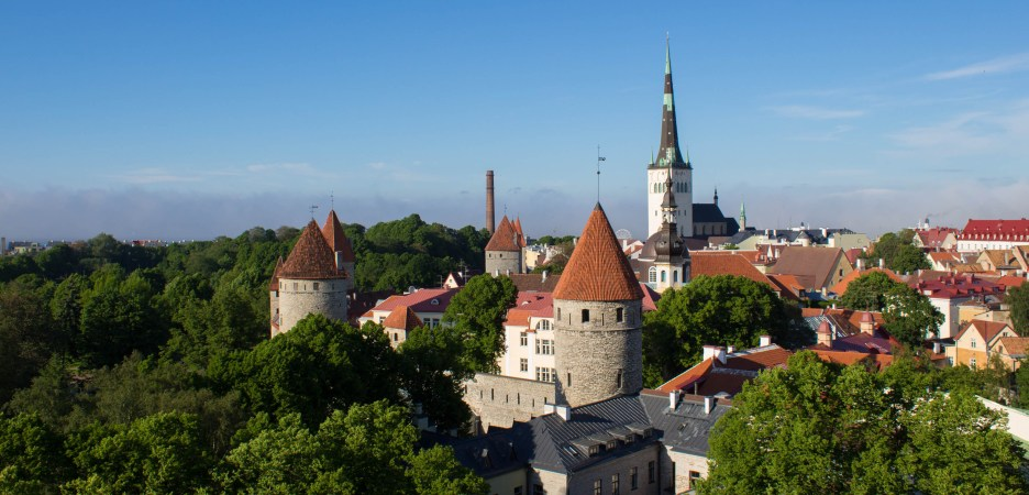 Taken from the top of toompea hill