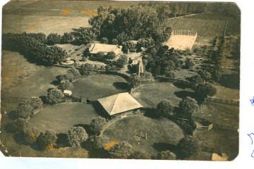 Vista áerea da fazenda Santa Albertina - Campo do Monte Alegre-SP_1