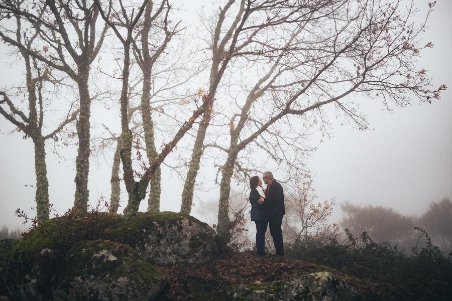 amor para sempre sessao namoro nevoeiro bodas prata ouro diamante casamento chaves tras os montes inverno
