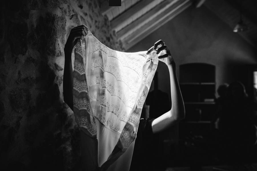 quinta de santana vestido de noiva em contraluz