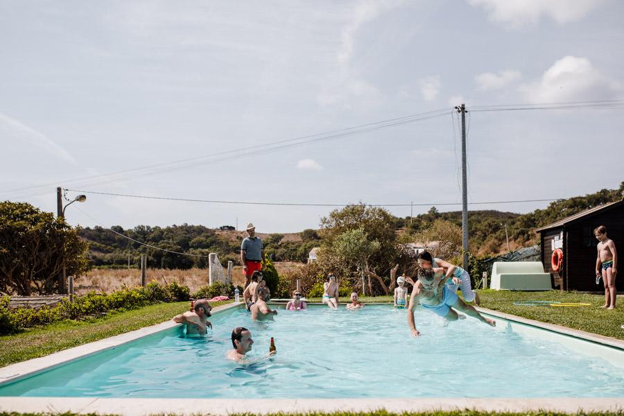 destination wedding aldeia de penalva praia sagres algarve piscina festa cerimonia civil informal