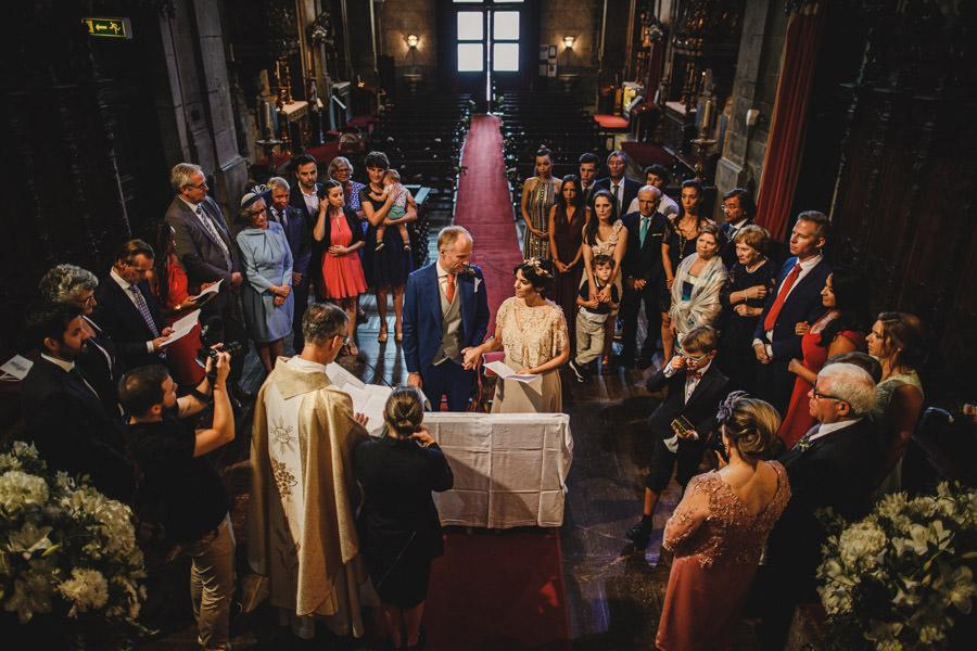 fotografia de casamento Porto troca de aliancas