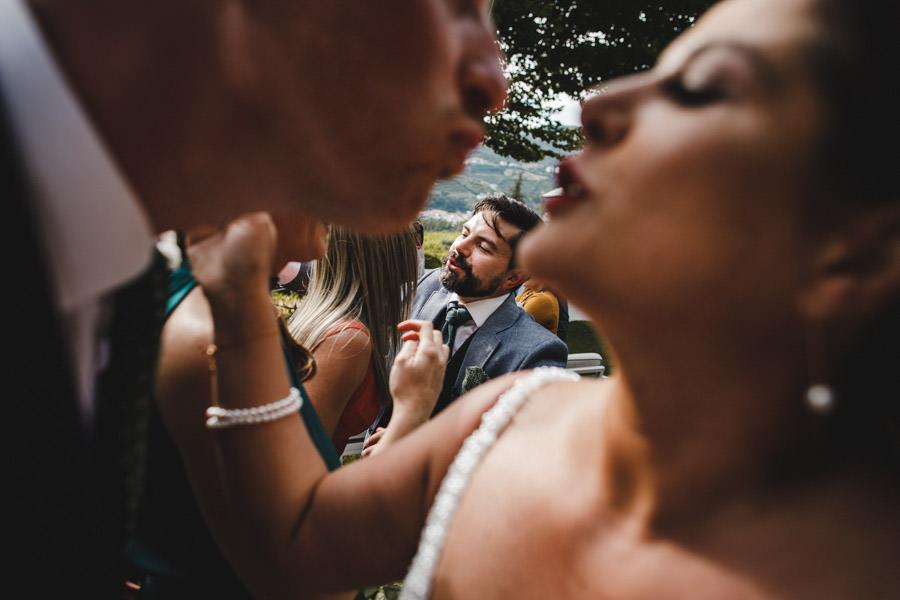 fotografia de casamento Pacheca beijos cruzados