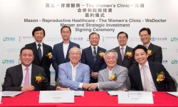 Mason Group's Reproductive Healthcare Merges with The Women's Clinic To Form Hong Kong's Largest and Asia's Leading IVF Medical Group