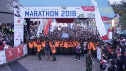 Pelari Kenya Mendominasi TNI International Marathon 2018