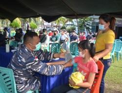 TNI AL Gempur Virus Covid-19 Lewat Serbuan Vaksinasi di Dumai