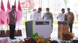 Presiden Jokowi Senang Resmikan Pabrik Milik Haji Isam