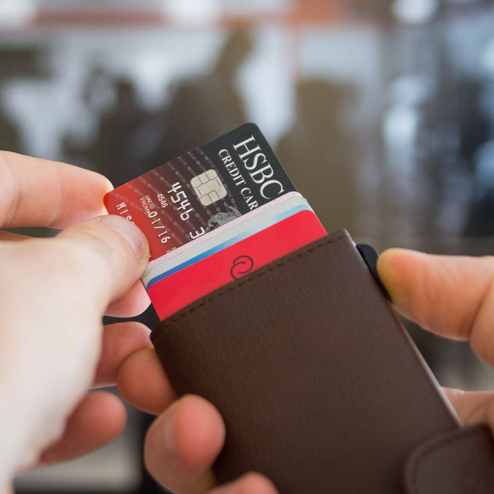 Cardholder Wallet C Secure RFID And NFC Protecting