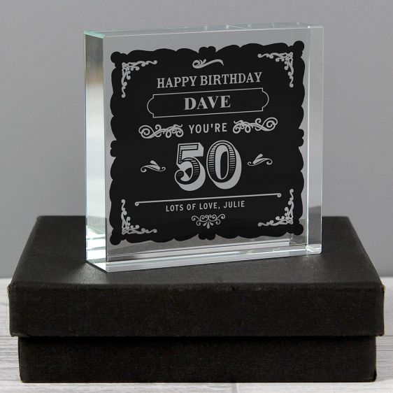 50th Birthday Gifts Cool Unique Gifts Menkind