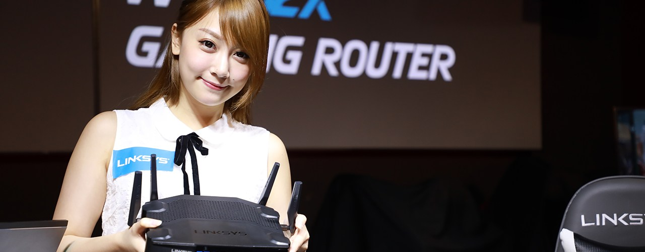 Linksys WRT32X Gaming Router  兩大電競女神 Rose Ma、Deer Chan 親身實測