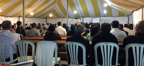 The Latin American Leaders' Meeting was hosted in Guatemala in February. Nearly 250 people attended.