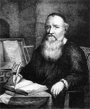 Menno Simons - engraving by Jacob Burghart
