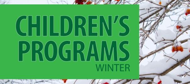 Winter Children's Programs