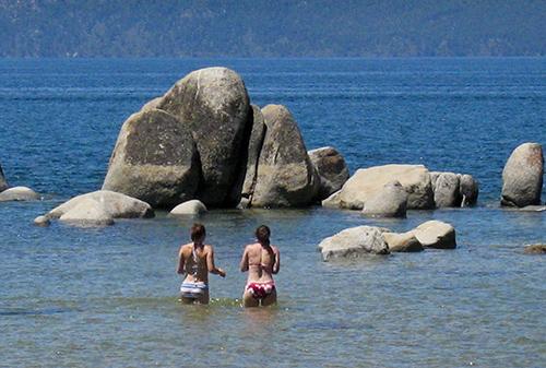 Sisters in the Lake © lynette sheppard