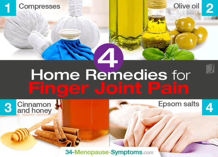 Top 4 home remedies for finger joint pain