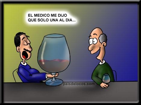 humor vino