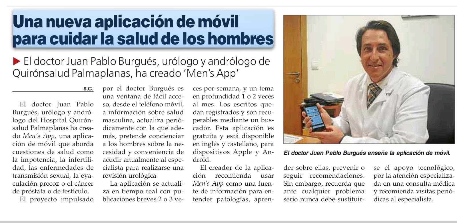 app salud hombres