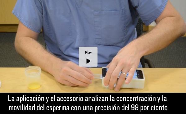 Un accesorio para tu smartphone que mide la calidad del semen