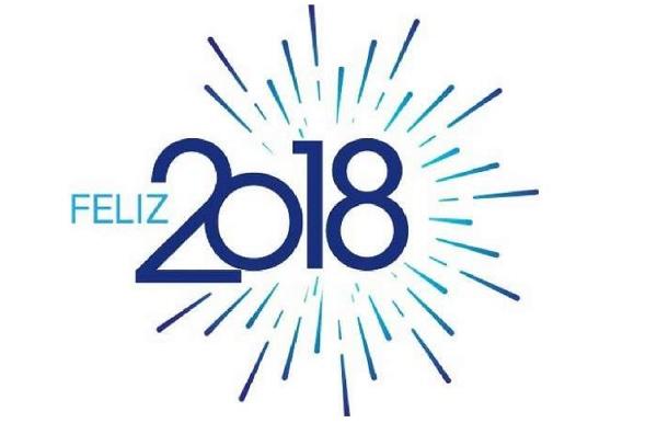 ¡Feliz 2018!