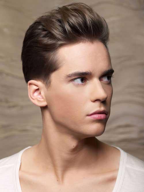 Men Ash Brown Hair Color