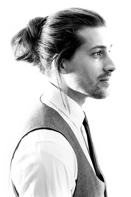 Men Ponytail Hairstyles 8