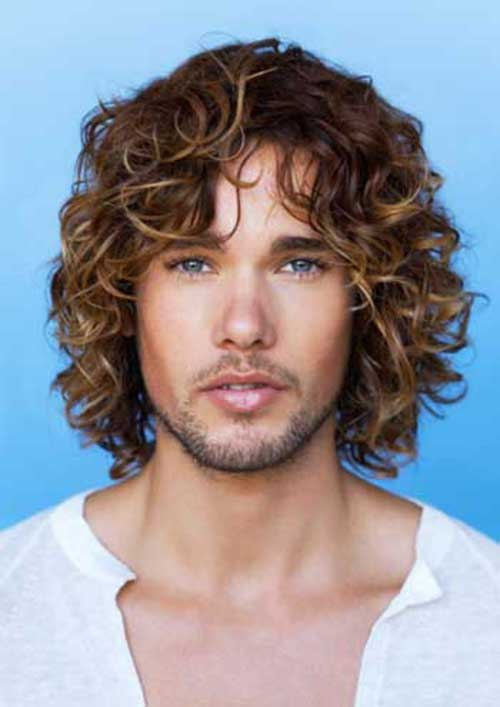 20 Guys with Long  Curly  Hair  Mens  Hairstyles  2019
