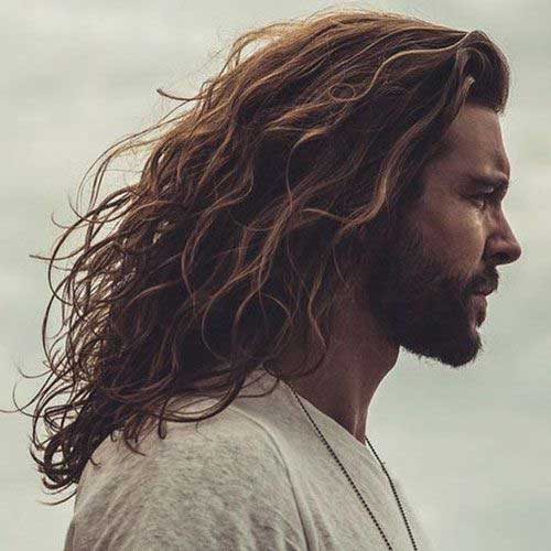 Image Result For Mens Long Curly Hairstyles Mens Hairstyles