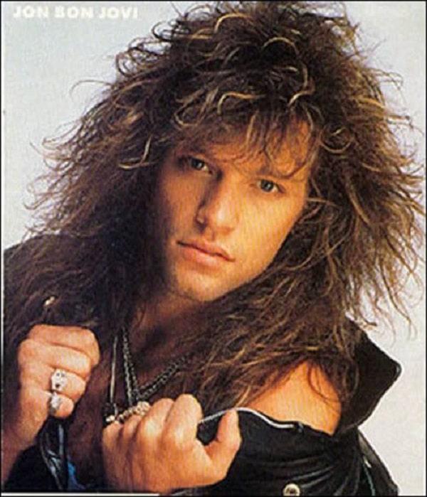 1983 Mens Hairstyle Big Hair