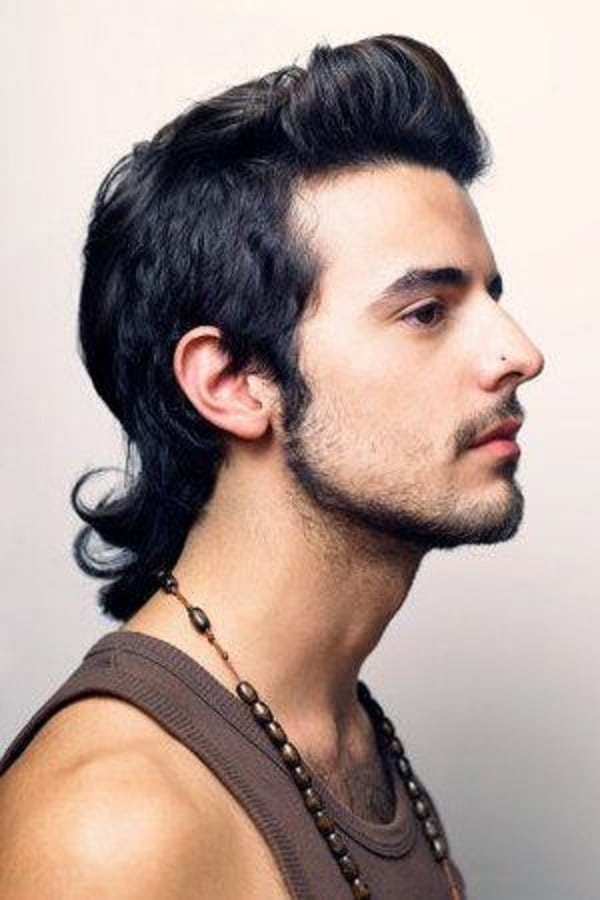 2008 Mens Hairstyle Modern Mullet
