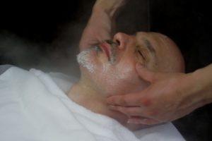 Japanese barber masage