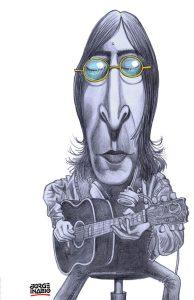 John Lennon por Jorge Inácio