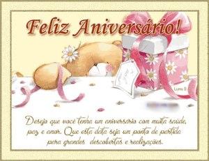 parabéns e feliz aniversário