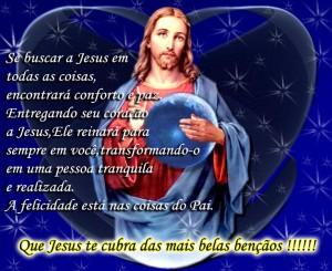 mensagens religiosas jesus abençoe
