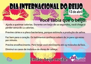 dia internacional do beijo 13 abril