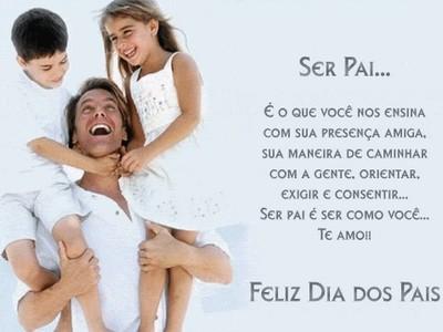 ser pai é amar-feliz dia dos papais