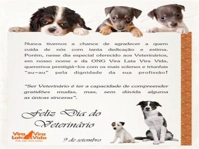 9 de setembro-dia do medico veterinario