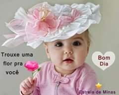 mensagem bom dia com imagens bebes