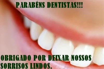parabens dentistas pelo seu dia-obrigado