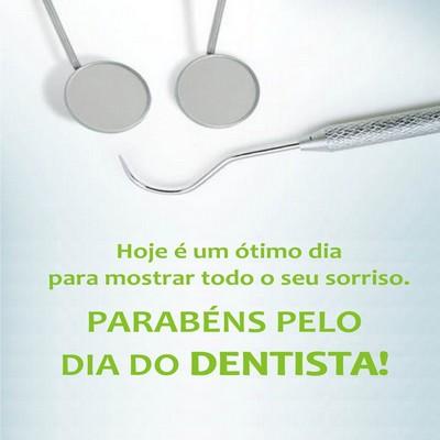 Parabens pelo dia do dentista-whatsapp e facebook