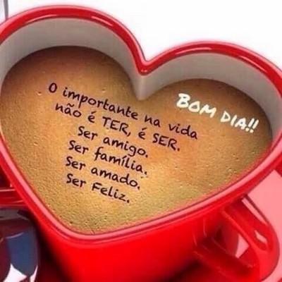 mensagem bom dia meu amor te amo muitao