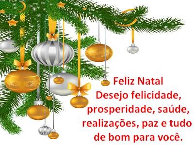 Feliz natal meus amigos mensagens com amor e paz