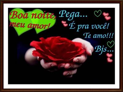 mensagem boa noite amor te amo