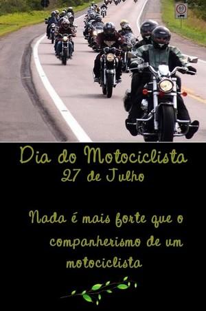 mensagem dia do motociclista