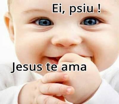 mensagem otimista sorria Jesus te ama