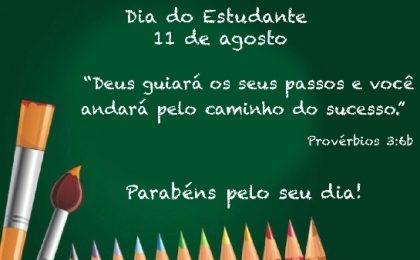 mensagem feliz dia do estudante