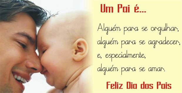 mensagem feliz dia dos pais com carinho e amor