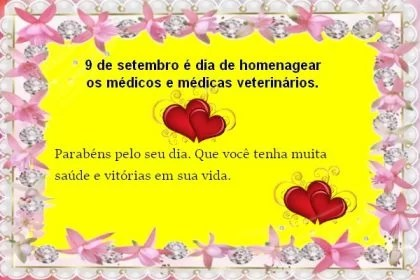 Feliz dia do veterinario